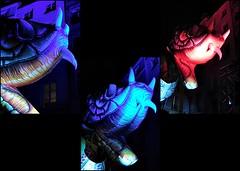 10 - Paris - Nuit Blanche et entours - Parade, Les Plasticiens Volants - De nos rêves, occupons le ciel (melina1965) Tags: octobre october 2019 îledefrance paris panasonic lumix dmctz57 nuitblanche mosaïque mosaïques mosaic mosaics collages collage 4earrondissement lumière light nuit night sculpture sculptures