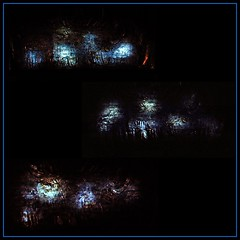 14 - Paris - Nuit Blanche et entours - Eglise Saint-Eustache, Intérieur - Evi Keller, Performance-Matière-Lumière, 2019 - Moments (melina1965) Tags: octobre october 2019 îledefrance paris panasonic lumix dmctz57 nuitblanche mosaïque mosaïques mosaic mosaics collages collage 1erarrondissement 75001 lumière light sculpture sculptures église églises church churches
