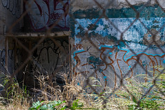2018-06-08 Puerto Rico San Juan Travels 003 (Ray Bernoff) Tags: sanjuan puertorico travel architecture abandoned building fence graffiti