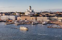 Helsinki, Finland (Ninara) Tags: gulfoffinland helsinki cruise finland sea portofhelsinki port kauppatori