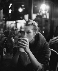 Coffee in the Cold (Michael Lloyd - Media Guy) Tags: coffee michaellloyd cafe montreal canada