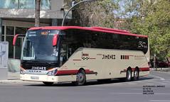 Setra S517HD - Autobuses Jiménez (emilijoan_2) Tags: autobus autocar busfan instabus fotobusvalencia busspotter autobuses jimenez setra