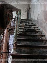 Stairway to Prison (ficktionphotography) Tags: prisonstairway prison abandonedprison abandonedpenitentiary urbex urbanexploration easternstatepenitentiary philadelphia pennsylvania explore