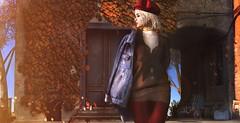 Kunstmuseen Autumn Leaves Corner (Bellsophie Resident) Tags: minimal deaddollz mbirdie lyrium uber dubai •world tree backdrop decor fall autumnleaves autumn sl seconlife