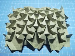 Octahedral tessellation (ISO_rigami) Tags: origami tessellation elephanthide