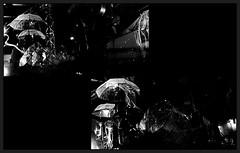 11 - Paris - Nuit Blanche et entours - Parade, Vivien Roubaud - Sucre cristal n°3, écoulement laminaire, courant alternatif, atmosphère modifiée (melina1965) Tags: octobre october 2019 îledefrance paris panasonic lumix dmctz57 nuitblanche mosaïque mosaïques mosaic mosaics collages collage noiretblanc blackandwhite bw 4earrondissement lumière light nuit night