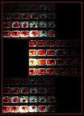 12 - Paris - Nuit Blanche et entours - Eglise Saint-Eustache, Extérieur - Evi Keller, Performance-Matière-Lumière, 2019 - Moments, Détails (melina1965) Tags: octobre october 2019 îledefrance paris panasonic lumix dmctz57 nuitblanche mosaïque mosaïques mosaic mosaics collages collage 1erarrondissement 75001 lumière light nuit night sculpture sculptures église églises church churches