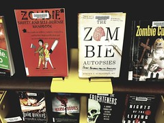 Devour Books Not Zombies (Santa Cruz Public Libraries) Tags: scpl santacruzpubliclibraries santacruz santacruzpubliclibrary dtn downtownlibrary downtownbranchlibrary downtownbranch books bookdisplay library libraries staffpicks