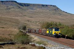 Higher & Hired (Richie B.) Tags: 6j37 colas rail ais gill cumbria settle and carlisle railway freightliner general electric class 70 powerhaul 70015