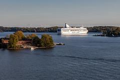 Helsinki, Finland (Ninara) Tags: gulfoffinland helsinki cruise finland sea island siljaline suomenlinna lonna