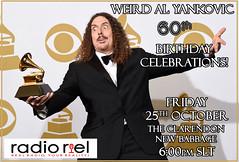 Weird Al Yankovic 60th Birthday Celebrations