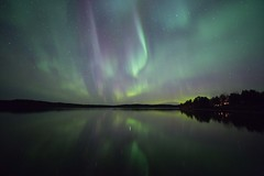 Aurora 4.10.2019 (Hotel Korpikartano) Tags: nightphotography finland nightsky northernlights auroraborealis revontulet finnishlapland laplandfinland auroraphotography inarilapland hotelkorpikartano irix canon6d
