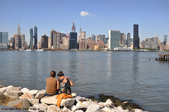 I Wandered Lonely As A Cloud (Trish Mayo) Tags: view scenic skyline manhattan nycparks hunterspointsouthpark longislandcity queens eastriver