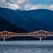 2019 - Road Trip - 163 - Nelson - 1 - Kootenay Lake Big Orange Bridge