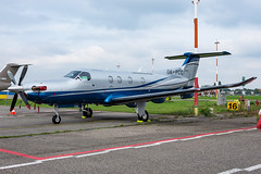 Private_PC12_OK-PCC_ANR_OKT19 (Jonas_Evrard) Tags: airport aviation aircraft airplane airliner antwerp antwerpairport spotting spotter photography planespotting plane planes planespotter bizzjet