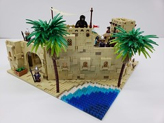 Aladdin-Streets of Agrabah Moc (ben_pitchford) Tags: lego bricknetwork legobricks afol legomoc legocastle castle legomedieval legoaladdin disney disneyaladdin legolandscape legotree