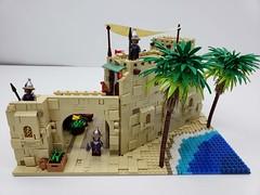 Aladdin-Streets of Agrabah Moc (ben_pitchford) Tags: lego legomoc legocastle legohub legophotography toyphotography legotrees legolandscape aladdin disneyfan disneyaladdin afol