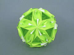 Siena (masha_losk) Tags: kusudama кусудама origamiwork origamiart foliage origami paper paperfolding modularorigami unitorigami модульноеоригами оригами бумага folded symmetry design handmade art