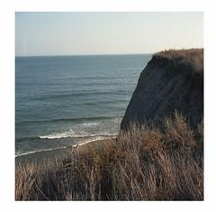 Broken cliff view (ADMurr) Tags: california pacific cliff dad850 6x6 mf square rolleiflex 35 e