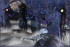 Ben Better (Bambi Chicque of BamPu Legacies) Tags: ©bampulegacies bambichicque ©tanyaelise'howardphotographygraphics benbettertombstone papermoon iheartthecartevent trickortreatlane lilith'sden slenderina lurkyman halloweencemetary ghoul gobblin secondlifeblogger secondlifedesigner 3ddesigner graphicsartist photographer visualarts finearts virtualphotography fantasyart digitalphotography digitalarts creativedigitalart enchantment extraordinaire medievalfantasy roleplay fantasy secondlifeevents spooky eerie ghostly graveyard darkness howling haunted eyeballs death casket skeleton fangs dead alien angel afterlife