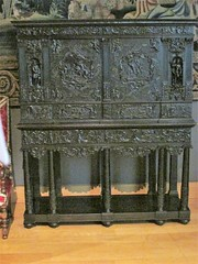 cabinet (sftrajan) Tags: decorativearts louvre museum mobilier furniture cabinet mobilario mueble museo paris france 17thcentury ébène oak poplar wood carved cabinetry départementdesobjetsdart europeandecorativearts frenchdecorativearts artsdécoratifs artesdecorativas dekorativekunst