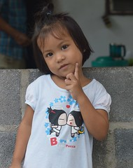 be like pucca (the foreign photographer - ฝรั่งถ่) Tags: cute girl portraits thailand child bangkok lard khlong bangkhen phrao nikon d3200