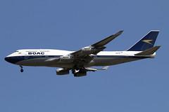 G-BYGC (JBoulin94) Tags: gbygc british airways boac boeing 747400 special livery retro retrojet washington dulles international airport iad kiad usa virginia va john boulin