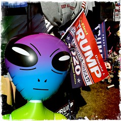 Aliens for Trump (awevans4) Tags: aliens deerfield fair sign colors mufon nh newengland hipstamatic campaign trump alien color trump2020 ufo newhampshire iphone maga