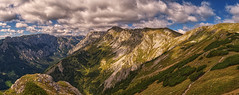 Morning hike through Hochswab (emilstrnadel) Tags: landscape mountains morning panorama hochschwab austria