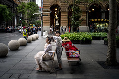 Martin Place Hair Styler (Photos By Dlee) Tags: sonyalphaa7iii sonya7iii sonya73 sony sonyalpha mirrorless fullframe fullframemirrorless sonyfe35mmf18 sony35mmf18 35mm prime primelens bokeh bokehlicious photo photosbydlee photography australia sydney newsouthwales nsw spring hairstyler martinplace