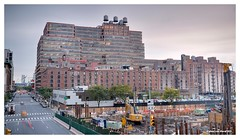 Highline view on 11th Ave (Geert van Hurck) Tags: highline nyc manhattan ny nd longexposure architecture streetview 11thave