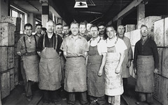 Tea blending Department staff, Bushells Tea Factory, Sydney, 1936, Sydney, PXE 1554 (State Library of New South Wales collection) Tags: bushells tea manufacturing sydney 1930s coffee workers harrington atherton street therocks kismet wylde demolished houses