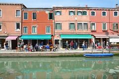 Buildings On Fondamenta dei Vetrai (Joe Shlabotnik) Tags: italia 2019 italy murano canal april2019 venice venezia afsdxvrzoomnikkor18105mmf3556ged