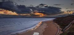 sunset at the beach (kali.00) Tags: queenscliff sunset australia beach winter