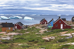 when you have icebergs in your back yard (yan08865) Tags: ilulissat icefjord greenland boat sailing fishing icebergs ice glaciers nature sea seascapes water waterfront landscapes sermeq kujalleq arctic travel colors photographers canon sigma pictures iceberg glacier ocean pavlis zodiac