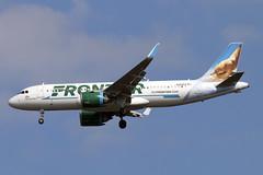 N352FR (JBoulin94) Tags: n352fr frontier airlines airbus a320neo a320 neo washington dulles international airport iad kiad usa virginia va john boulin