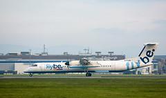 G-FLBA Dash 8, Edinburgh (wwshack) Tags: bombardier dhc8 dash8 edi egph edinburgh edinburghairport flybe lothian turnhouse gflba