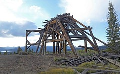 Headframe / Denver City Mine (Ron Wolf) Tags: historic leadville abandoned architecture headframe landscape mine mining structure colorado