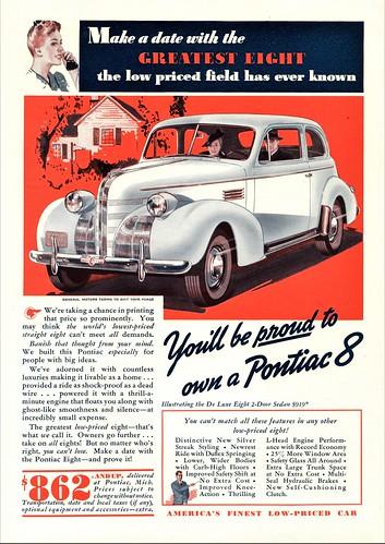 1939 Pontiac De Luxe Eight 2-Door Sedan