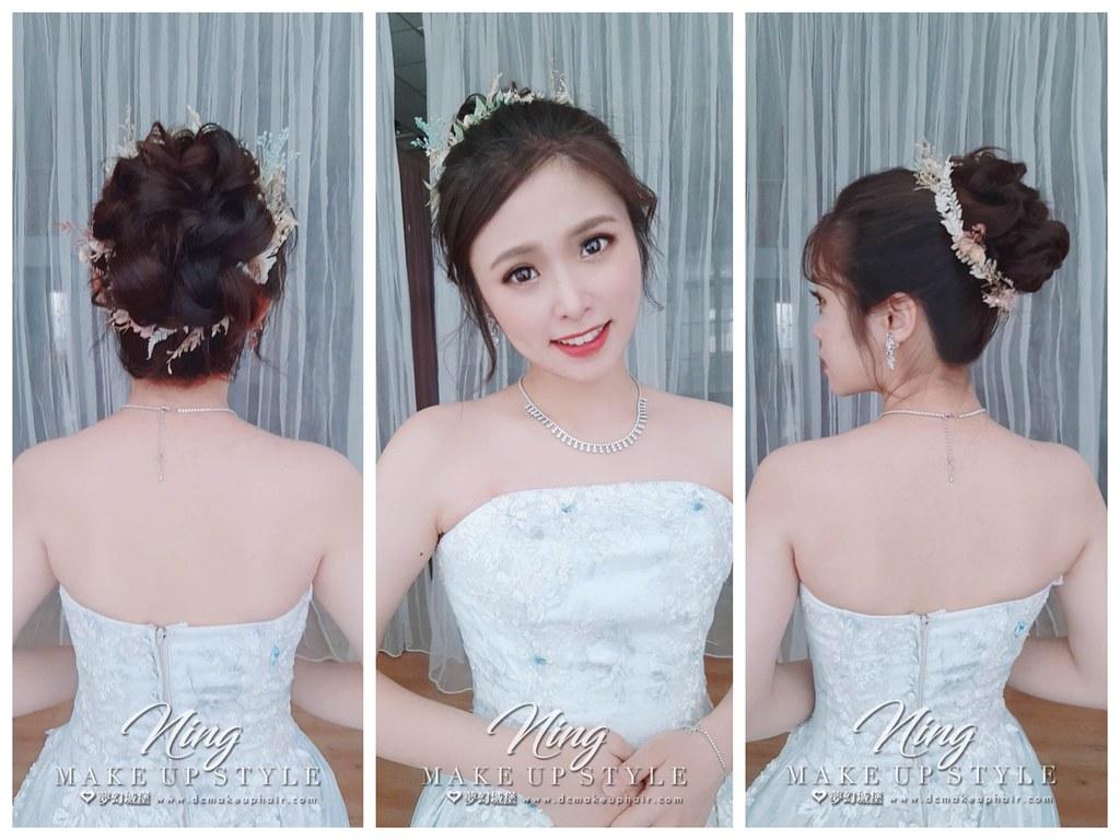 【新秘羽寧】新娘婚紗造型
