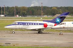 IMG_9954@L6 (Logan-26) Tags: hawker beechcraft 750 vqbbr msn hb19 sirius aero riga international rixevra latvia airport aleksandrs čubikins 1st first