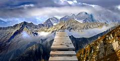 ponti d'oro (art & mountains) Tags: alpi alps moriana tignaga cimone bivacco cime creste granito roccia hiking traversata gta esc esp natura silenzio condivisione contemplazione spazio respiro vision dream spirit immaginazione art