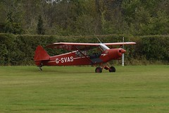 G-SVAS Piper PA-18 Super Cub (graham19492000) Tags: oldwarden gsvas piper pa18 supercub