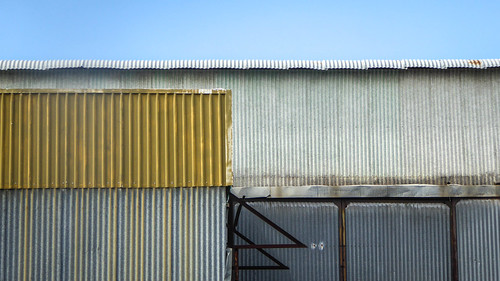 Layers of sheds - Explored #258, 9 October 2019