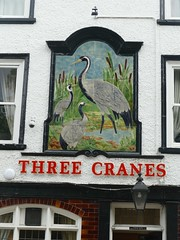 Pub Sign - Three Cranes, St Sampsons Square, York 190912 (maljoe) Tags: pubsigns pubsign publichouse pub pubs inn inns tavern taverns york northyorkshire