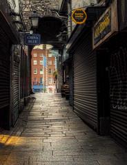 back alley (Paulette Cassidy) Tags: backalley dublin
