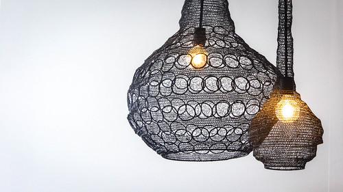 Net lampshades