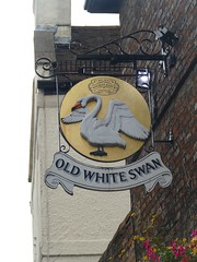 Pub Sign - Old White Swan, Goodramgate, York 190912 1 (maljoe) Tags: pubsigns pubsign publichouse pub pubs inn inns tavern taverns york northyorkshire