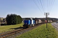 1271 009 WEBA (uhrpfälzer) Tags: eisenbahn zug güterzug westerwald obererbach westerwaldbahn