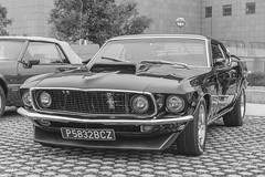 Mach 1 (Miguel Ángel Prieto Ciudad) Tags: car transportation outdoors city retro styled collectors vintage day auto motor muscleclar classic automotive automobile classiccar ponycar ford mustang sonyalpha alpha3000 emount mirrorless cutout